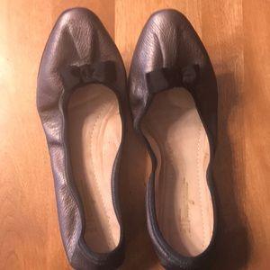 Ferragamo flat shoe.
